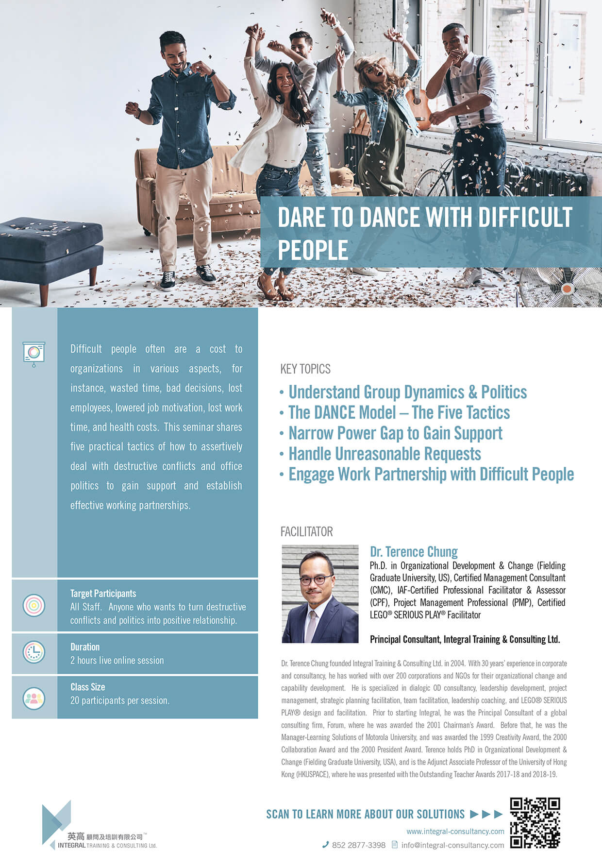 Dare to Dance with Difficult People